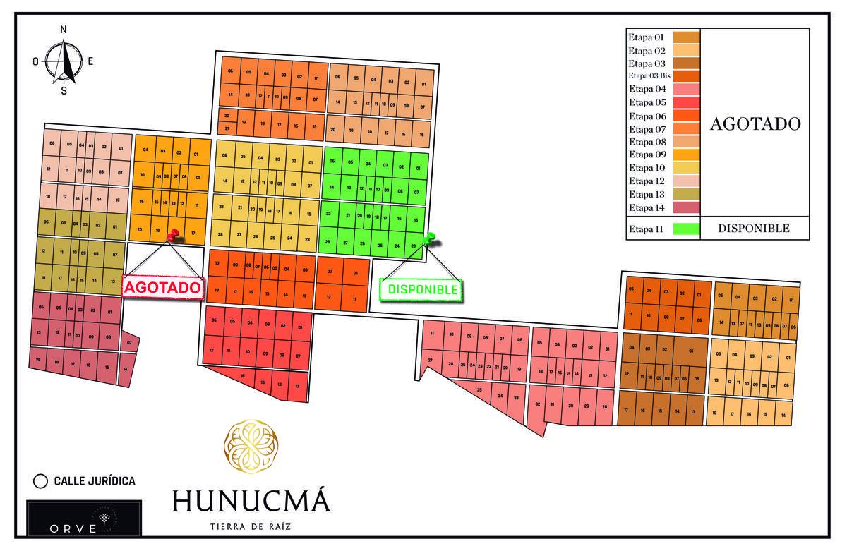Foto Barrio Privado en Pueblo Hunucma Hunucmá Tierra de Raíz | Etapa 11 número 7