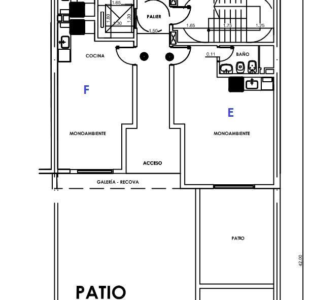 Foto Departamento en Venta en  Centro,  Rosario  Madrid  - Paraguay 331 - 1  dormitorio  Torre1 2B