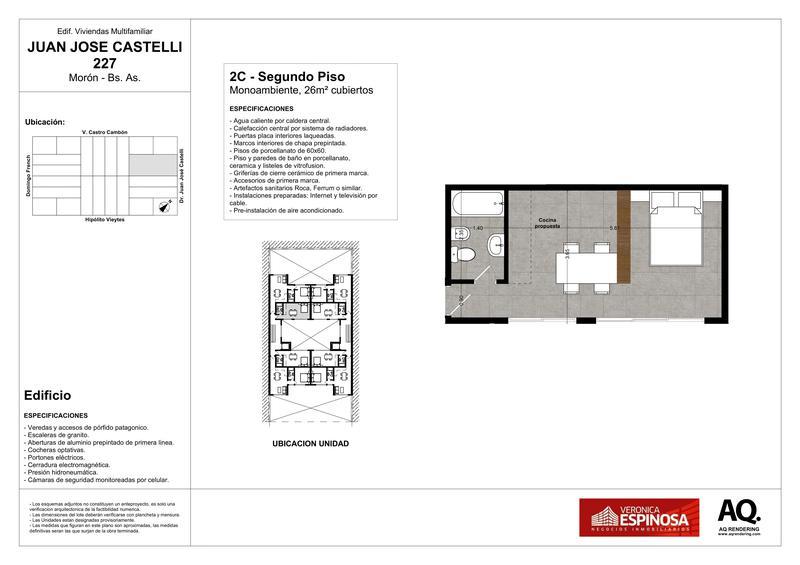 Foto Edificio en Moron Sur Castelli 200 número 9