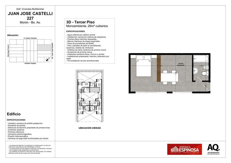 Foto Edificio en Moron Sur Castelli 200 número 11