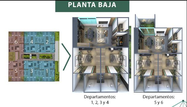 Foto Condominio en Mérida Taliva departamentos número 6