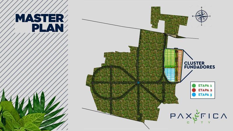 Foto Barrio Privado en Muxupip PAXIFICA CITY se encuentra ubicada al oriente de la ciudad de Mérida, Yucatán, en el municipio de Muxupip a tan solo 18 minutos. Cuenta con una inmejorable ubicación y accesibilidad gracias a la carre número 7