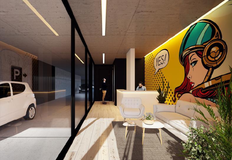 Foto Edificio en Pocitos Nuevo ZONA WTC número 9