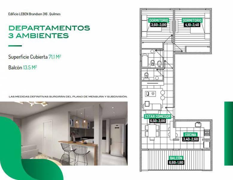 Foto Edificio en Quilmes Brandsen 316 número 7