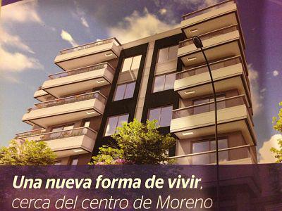 Foto Departamento en Venta en  Moreno,  Moreno  1er. Piso - Dpto.: E - Monoambiente a estrenar - Moreno - Lado sur