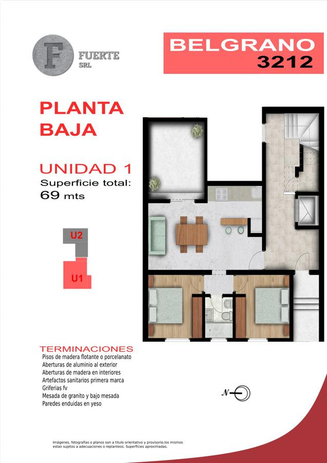Foto Edificio en Candioti CANDIOTI SUR - Belgrano 3212 número 3