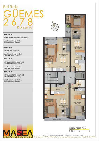 Foto Edificio en Pichincha Guemes 2678 número 3