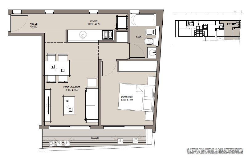 Emprendimiento Territorio: Thames 677 (y Velazco) en Villa Crespo