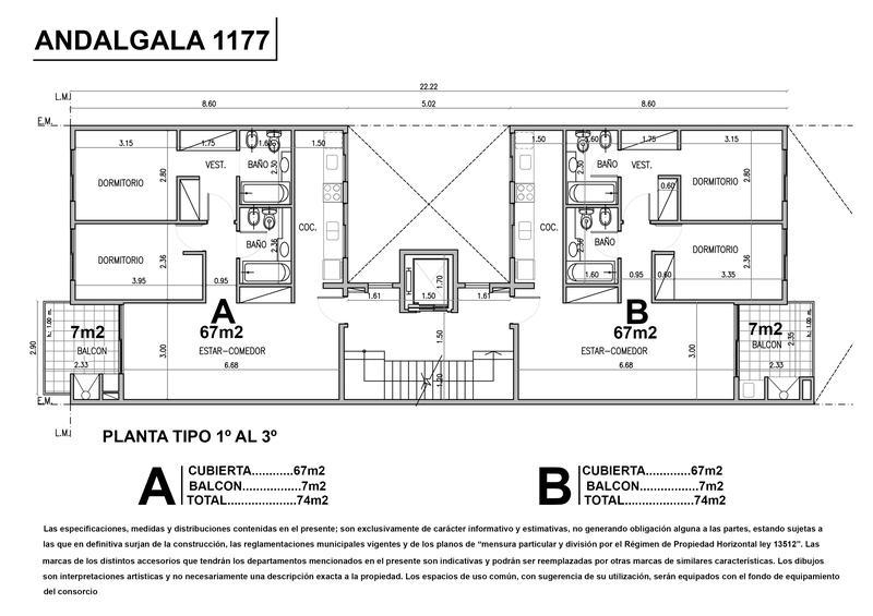 Foto Edificio en Liniers Andalgala 1100 número 19