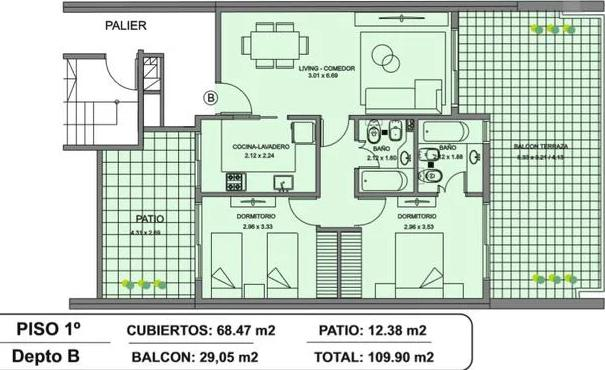 Foto Edificio en Caballito Norte Valentín Virasoro 900 número 10