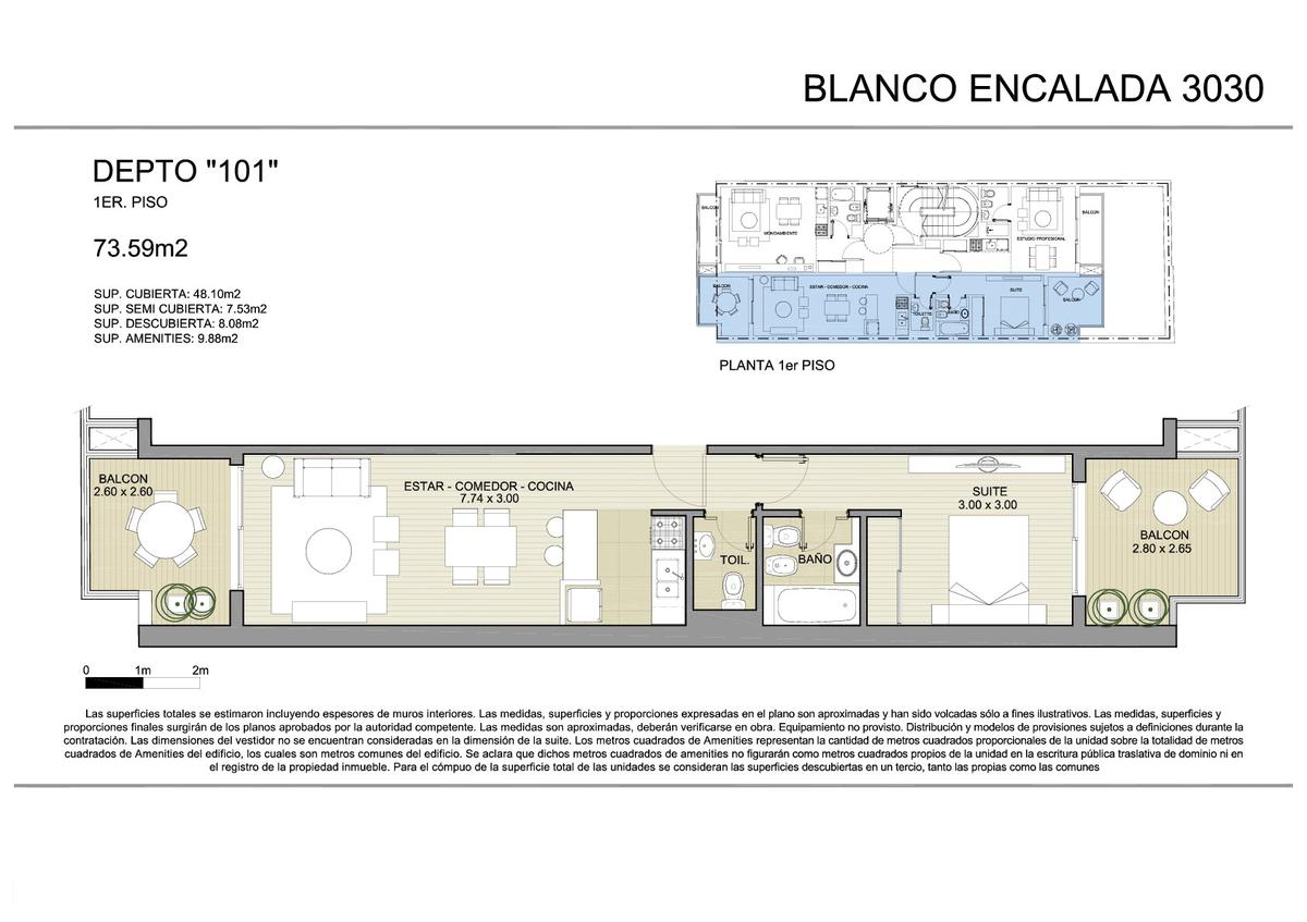 Foto Edificio en Belgrano BLANCO ENCALADA 3030 número 15