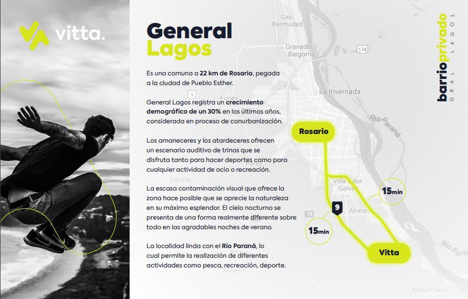 Foto Terreno en Venta en  General Lagos,  Rosario  Lotes en Barrio Privado Vitta - General Lagos
