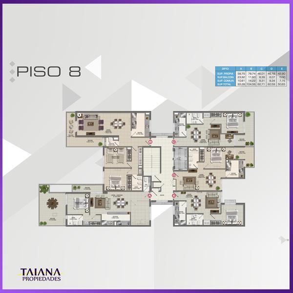 Foto Edificio en Nueva Cordoba             Lanin 9-Fructuoso Rivera 150           número 26