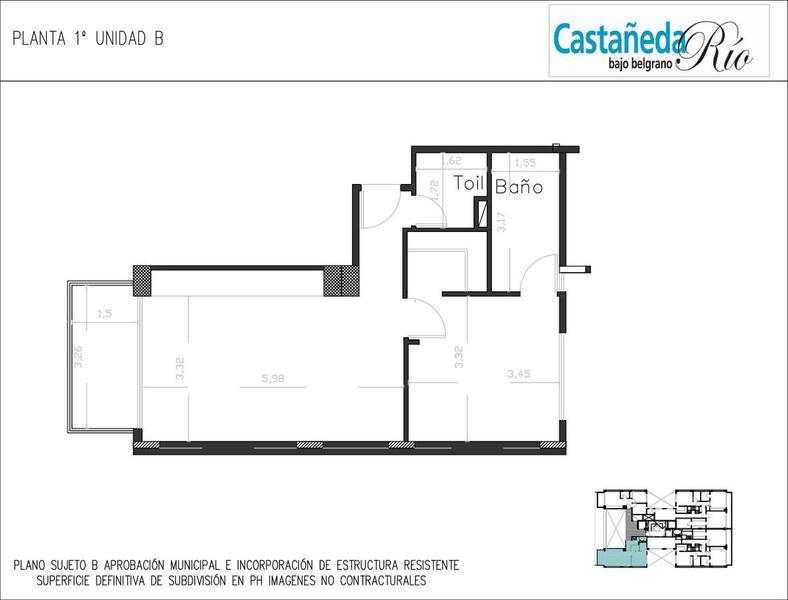 Foto Edificio en Belgrano C CASTAÑEDA 1800 Y SUCRE - BAJO BELGRANO número 19
