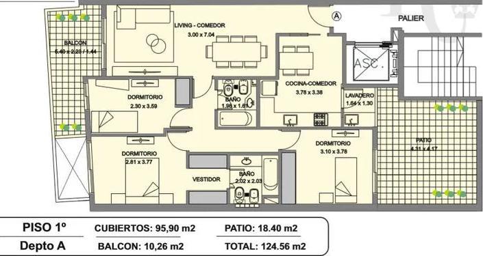 Foto Edificio en Caballito Norte Valentín Virasoro 900 número 12