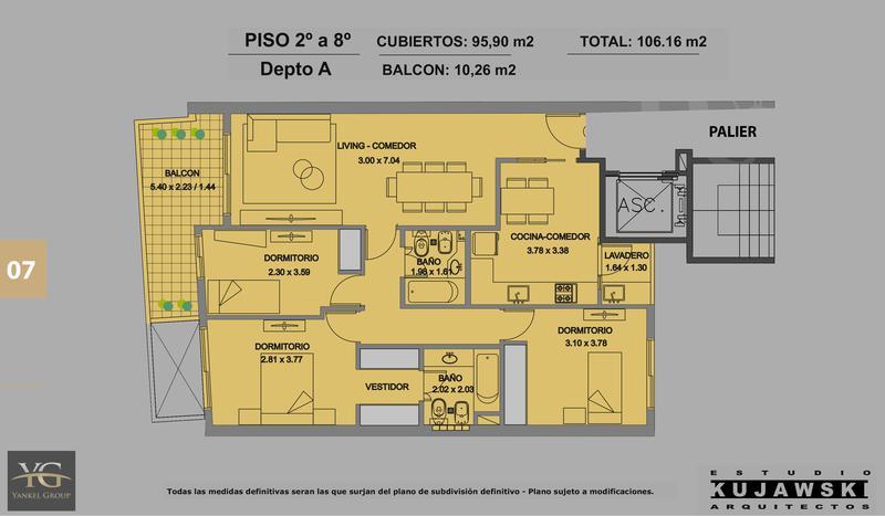 Foto Edificio en Caballito Valentin Virasoro 949 número 14