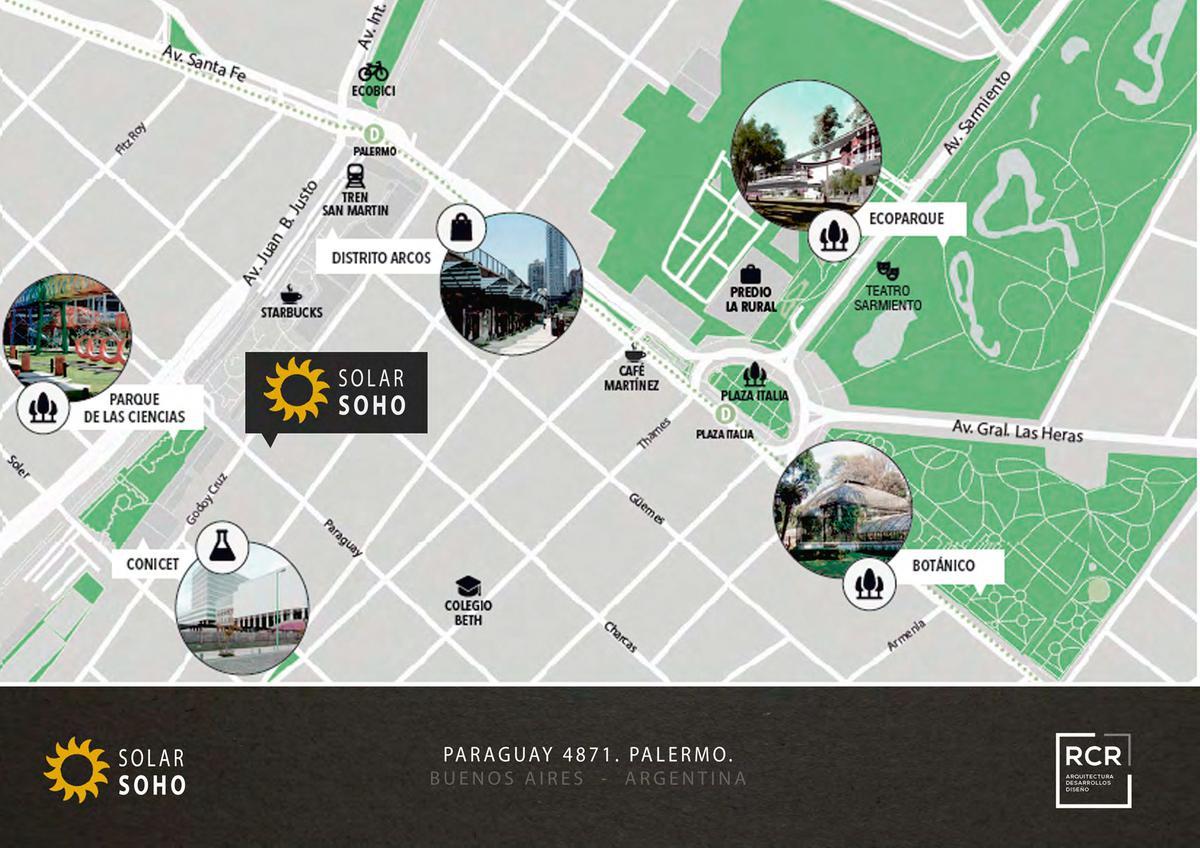 Foto Edificio en Palermo Soho PARAGUAY Y GODOY CRUZ  número 8