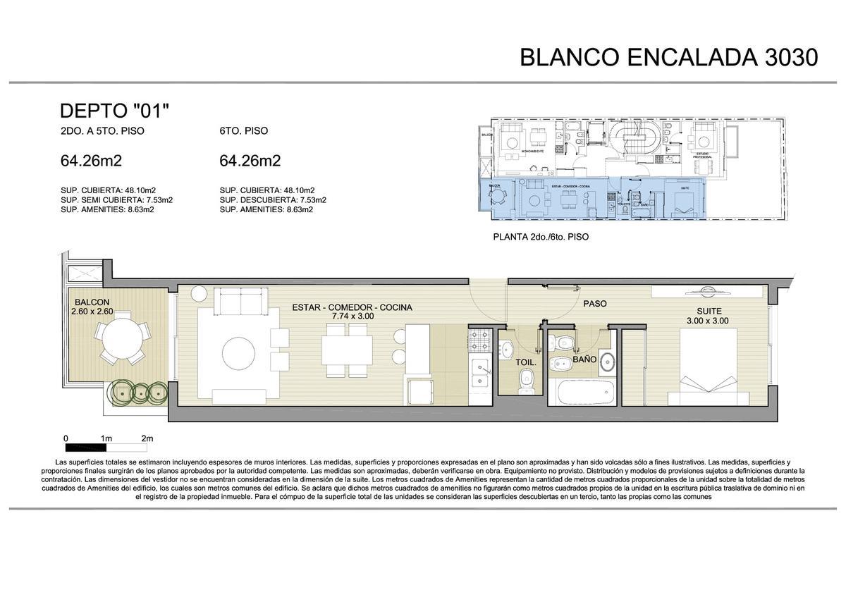 Foto Edificio en Belgrano BLANCO ENCALADA 3030 número 14