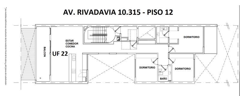 Foto Edificio en Villa Luro Av. Rivadavia 10315 número 12