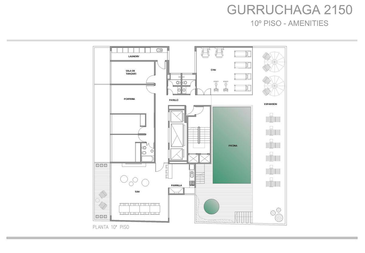 Foto Edificio en Palermo Gurruchaga y Paraguay numero 3