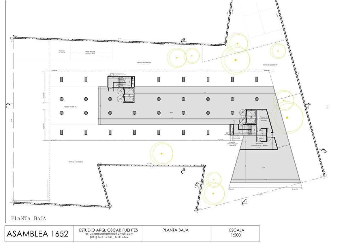 Foto Edificio en Parque Chacabuco Asamblea  1652 número 10
