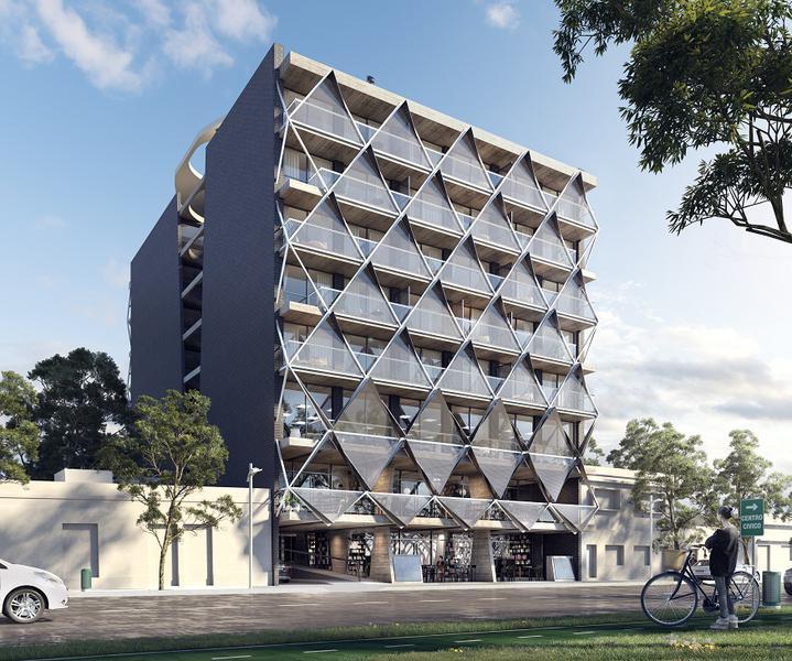 Foto Edificio en General Paz SONOMA 9- Av. Gral. Ortiz de Ocampo 40 número 3