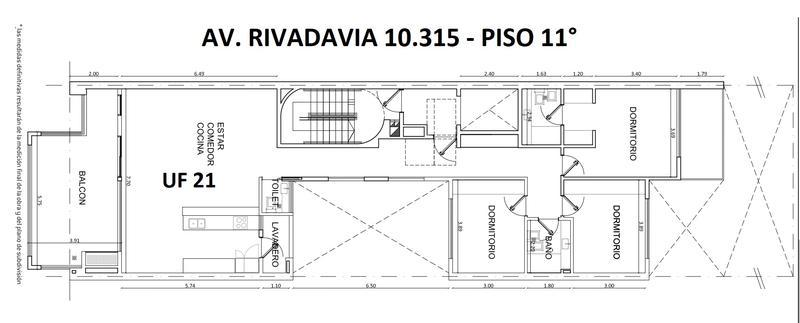Foto Edificio en Villa Luro Av. Rivadavia 10315 número 13