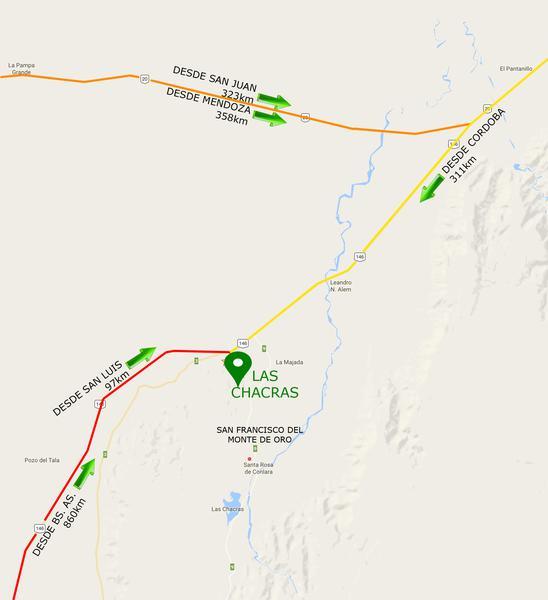 Foto Campo en Venta en  San Fco Del Monte De Oro,  Ayacucho                              San Fco del Monte de Oro, chacra con monte 298