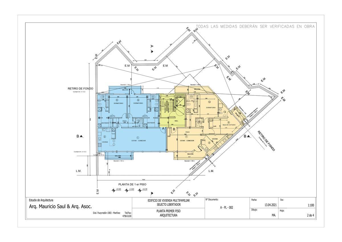 Exclusivo edificio de 4 plantas, 8 unidades de vivienda en Victoria, Punta Chica-9