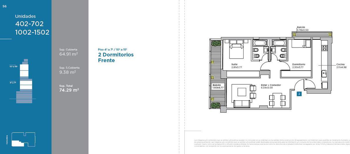 Emprendimiento VISTA BELGRANO: Ciudad de la Paz 2331 en Belgrano C