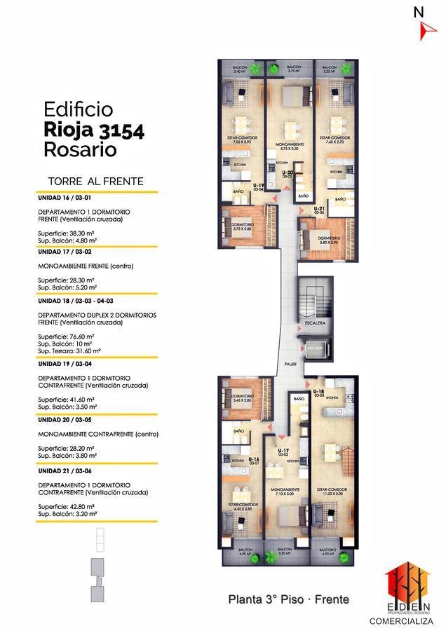 Foto Edificio en Lourdes Rioja 3154 número 15