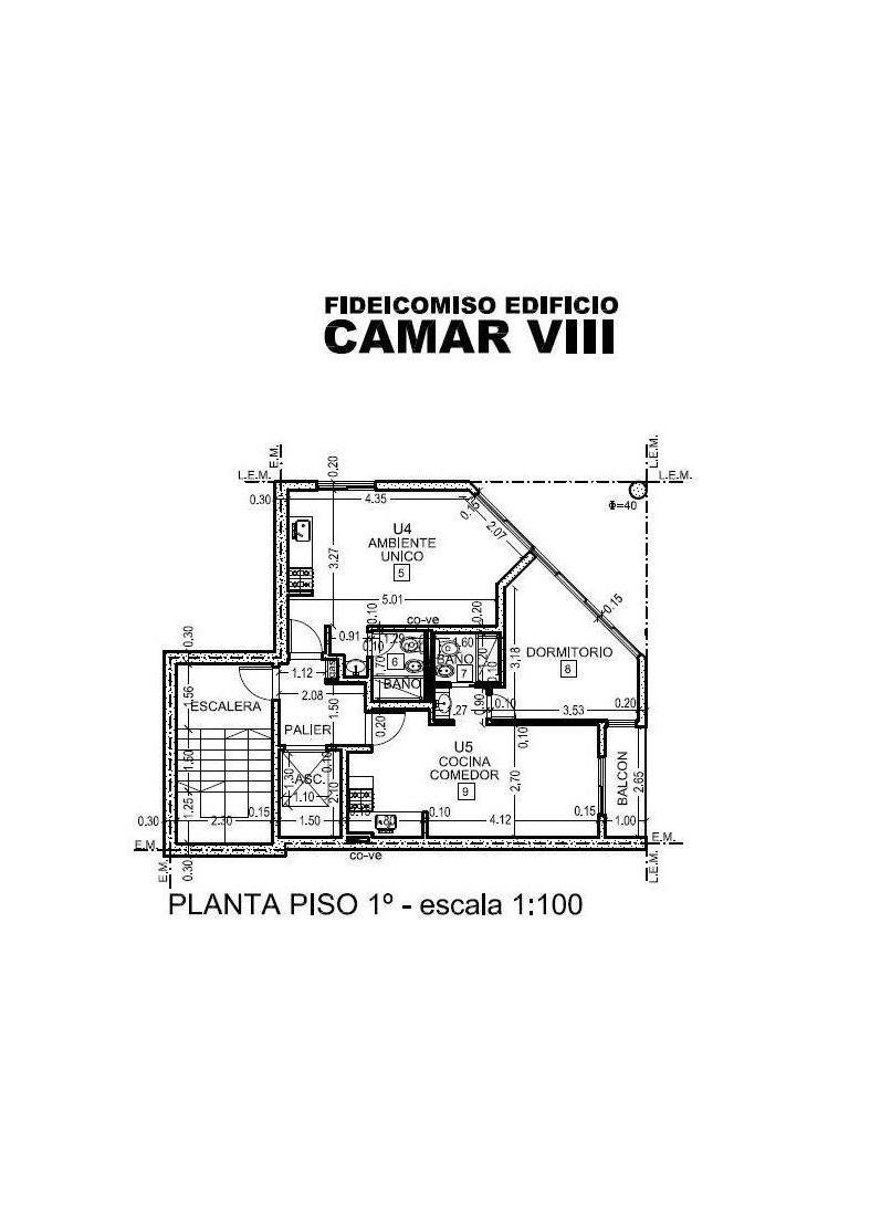 Foto Departamento en Venta en  República de la Sexta,  Rosario  Edificio Camar VIII Moanoambiente en Planta Baja