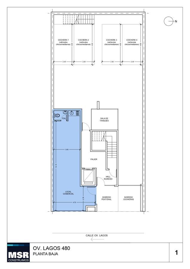Foto Edificio en Pichincha Ovidio Lagos 480 número 8
