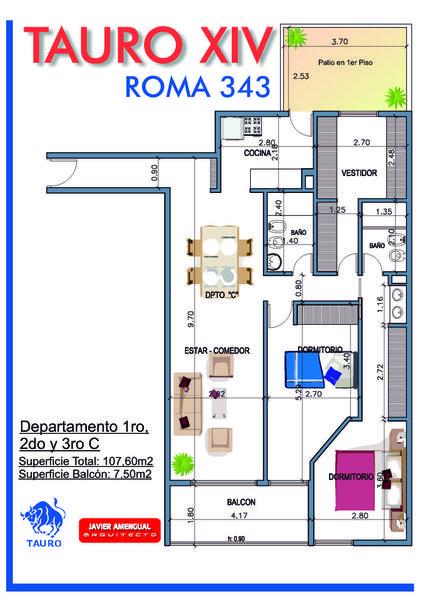 Foto Edificio en General Paz Roma 300 número 11