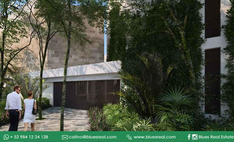 Unit picture House in Sale in  Tulum ,  Quintana Roo  For sale new residences in Tulum at K'uyen in Tulum | Blues Real | Code  926