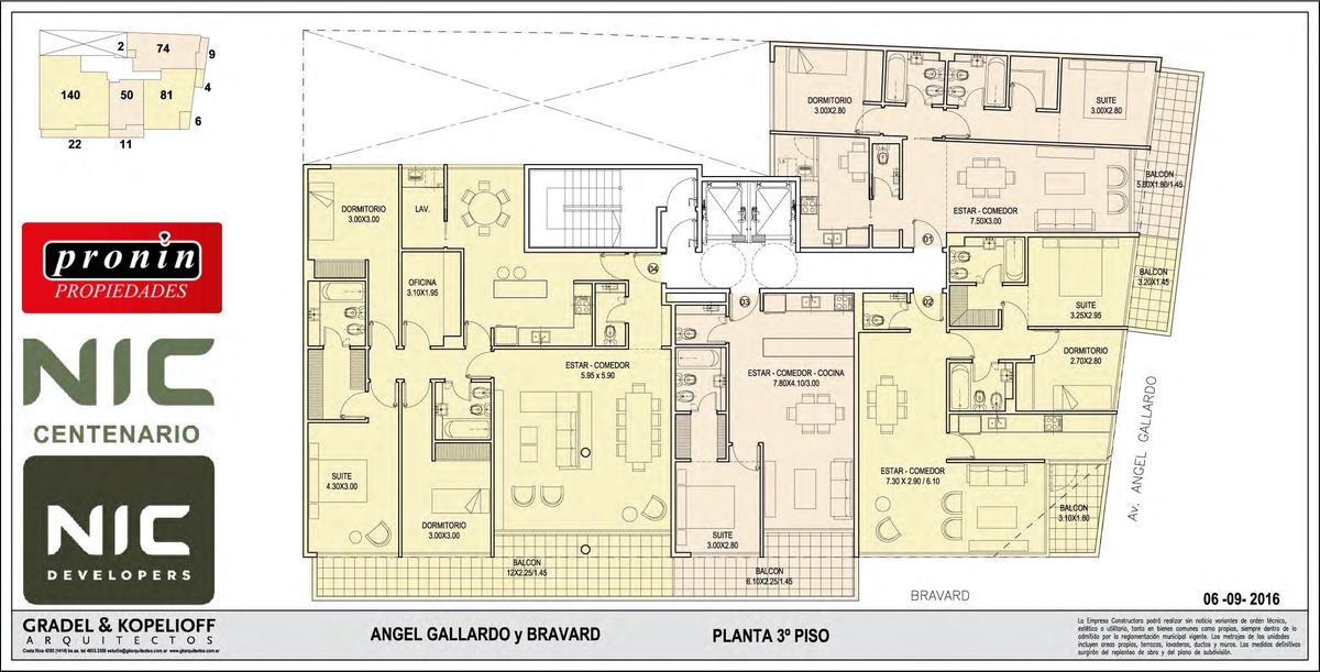 Foto Edificio en P.Centenario             Av Angel Gallardo y Bravard           número 10