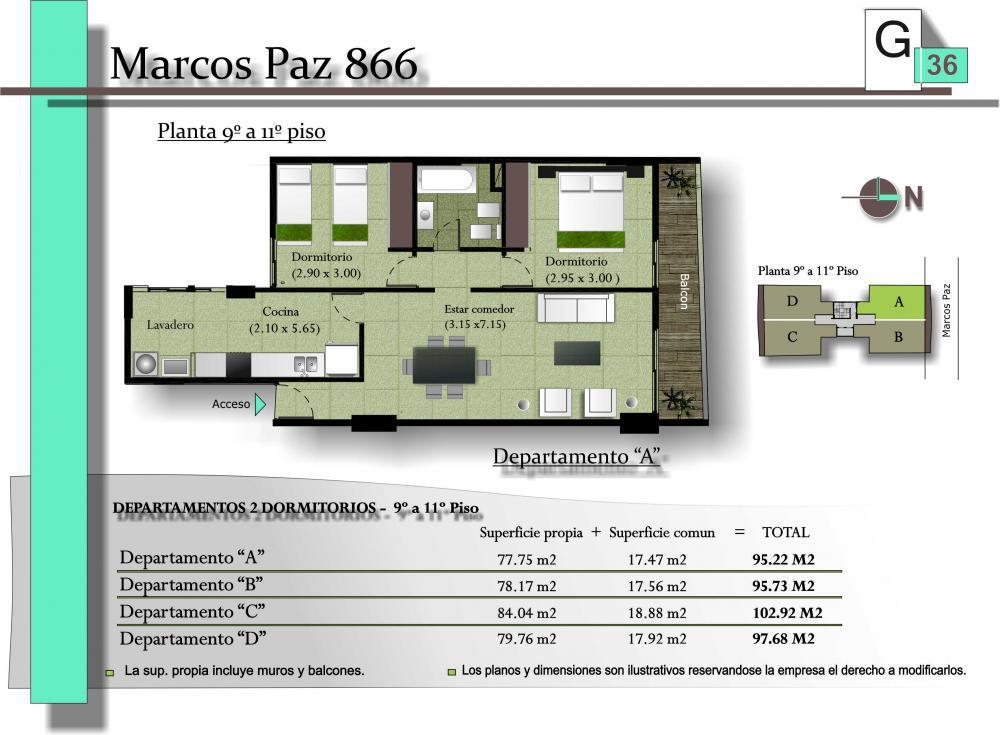 Foto Edificio en San Miguel De Tucumán MARCOS PAZ 886 número 5