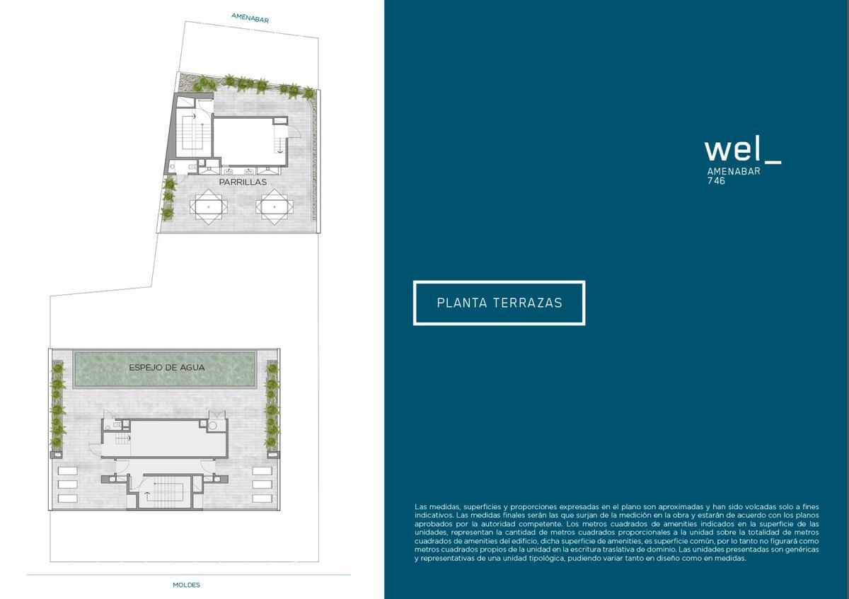 Emprendimiento WEL - Moldes 657/Amenabar 746 en Colegiales