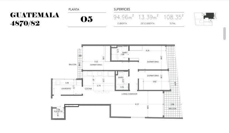 Foto Edificio en Palermo Soho GUATEMALA  4780 número 18