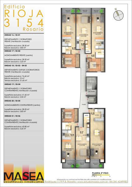 Foto Edificio en Lourdes Rioja 3154 número 9