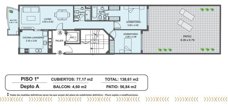 Foto Edificio en Caballito Norte Bogotá 220 número 4