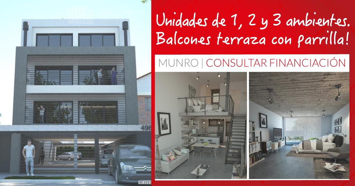 Foto Edificio en Munro Olaguer y Feliú 4900 número 1
