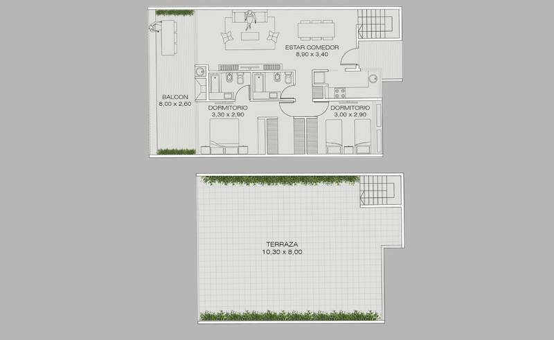 Foto Edificio en Colegiales Concepcion Arenal 3560 número 13