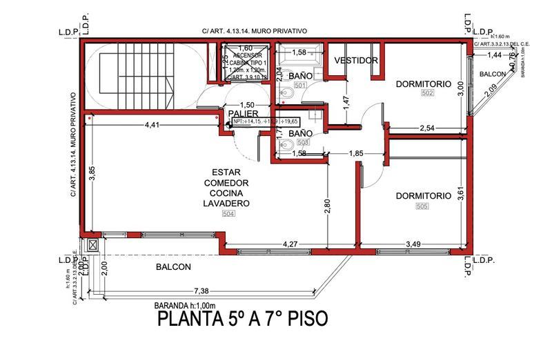 Foto Edificio en Liniers Altos de Lisandro número 14