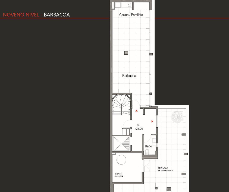 Foto Edificio en Cordón Apartamentos de 1 y 2 dormitorios SOHO Minas número 9
