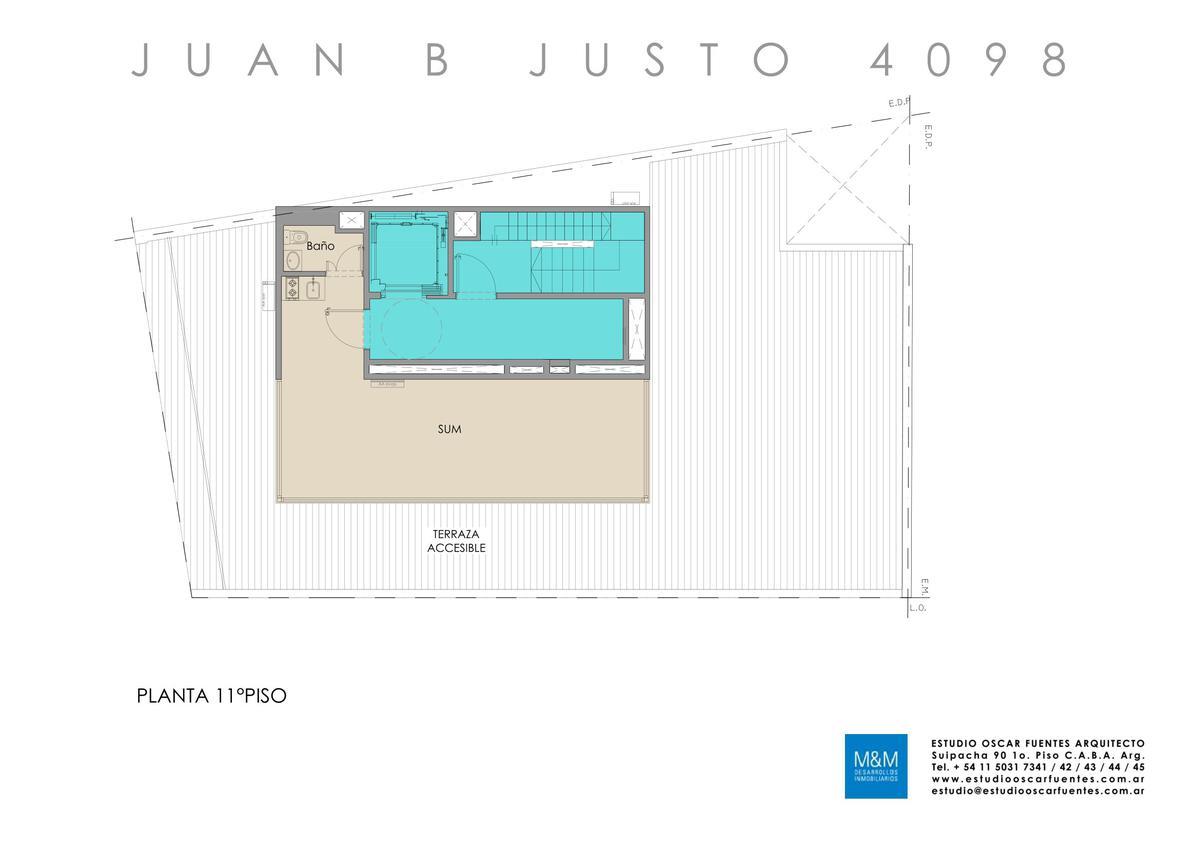 Foto Edificio en Caballito Juan B Justo 4098 número 14
