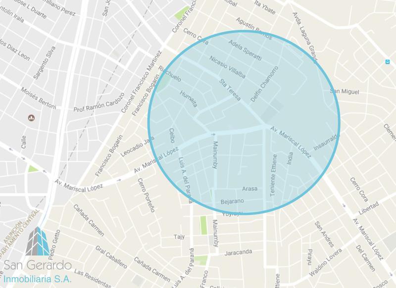 Foto Barrio Privado en Orilla del Campo Grande Zona Mcal. López y Sta. Teresa número 24