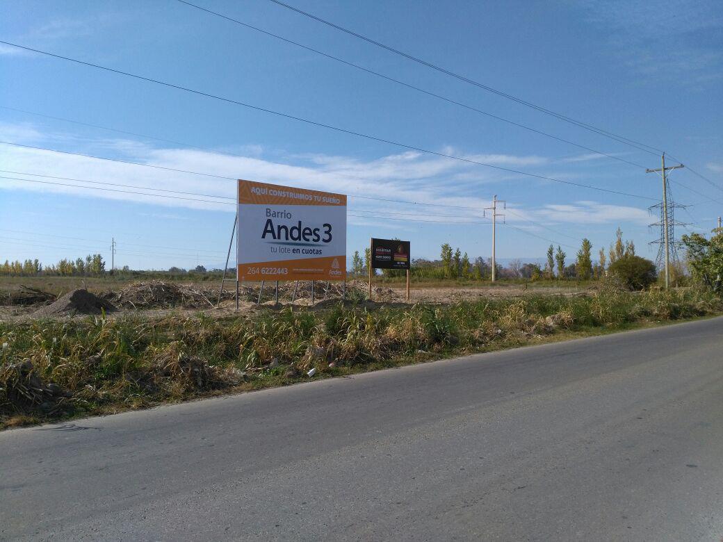 Foto unidad Terreno en Venta en  Rivadavia ,  San Juan  República del Líbano Oeste, entre Meglioli y Rastreador Calivar