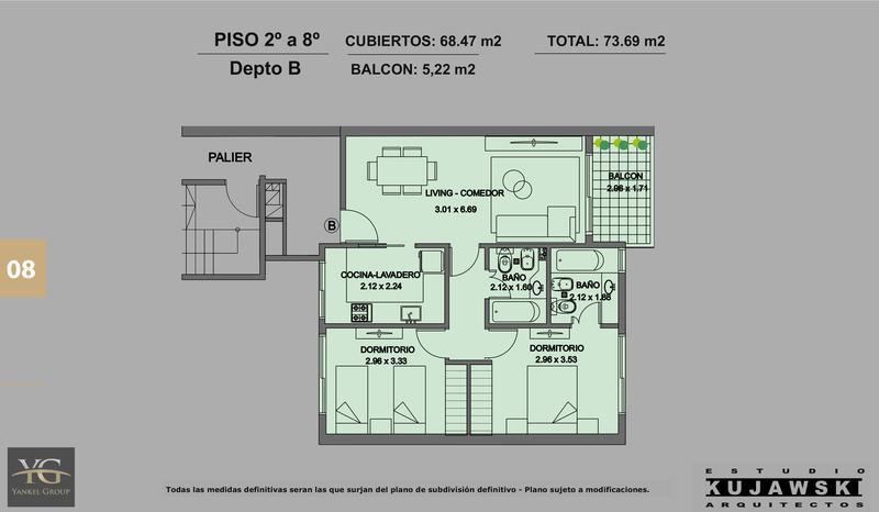 Foto Edificio en Caballito Valentin Virasoro 949 número 13