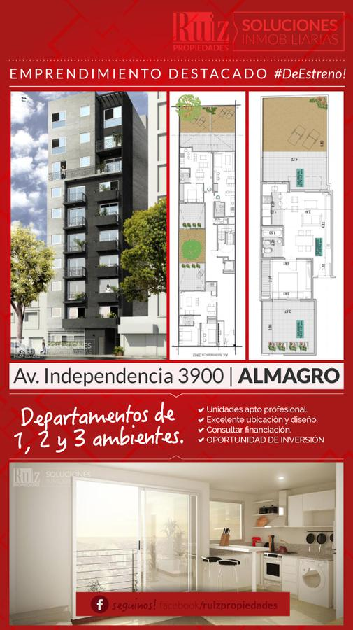 Foto Departamento en Venta en  Almagro ,  Capital Federal  Av. Independencia 3900 8°C